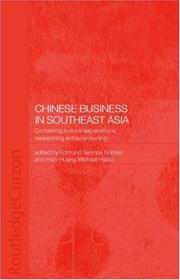 Cover of: Chinese Business in South-East Asia