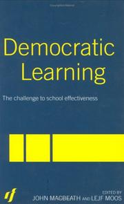 Cover of: Democratic Learning