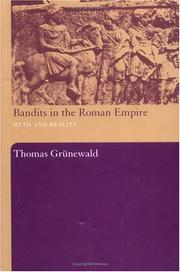 Cover of: Bandits in the Roman Empire