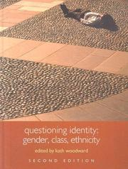 Cover of: Questioning Identity: Gender, Class, Nation (An Introduction to the Social Sciences)