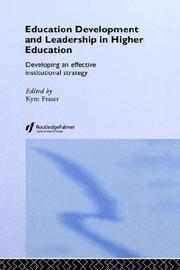 Cover of: Education Development and Leadership in Higher Education