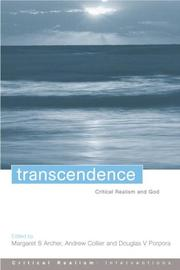 Transcendence by Margaret Scotford Archer