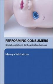 Cover of: Performing Consumers