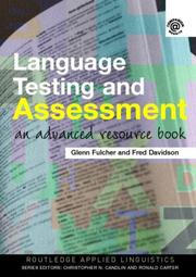 Cover of: Language Testing and Assessment