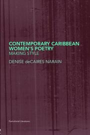Cover of: Contemporary Caribbean Women's Poetry