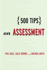 Cover of: 500 Tips on Assessment (500 Tips) | Phil Race