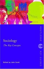 Cover of: Sociology | John Scott