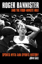 Cover of: Roger Bannister and the four-minute mile