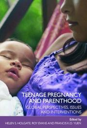 Cover of: Teenage Pregnancy and Parenthood