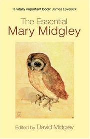 Cover of: The essential Mary Midgley