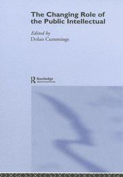 Cover of: Changing Role of the Public Intellectual