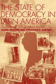 Cover of: The state of democracy in Latin America