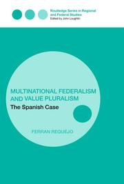 Cover of: Multinational federalism and value pluralism