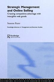 Cover of: Strategic management and online selling | Susanne Royer