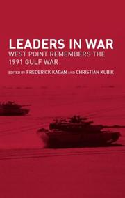 Cover of: Leaders in war