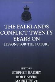 Cover of: The Falklands Conflict 20 Years On