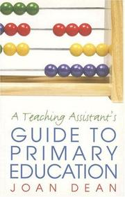 Cover of: A teaching assistant
