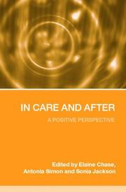 Cover of: Children and Young People in and After Care |