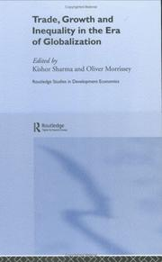 Cover of: Trade, Growth and Inequality in Developing Countries
