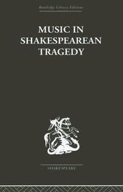 Cover of: Music in Shakespearean Tragedy
