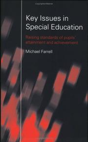Cover of: Key issues in special education | Farrell, Michael