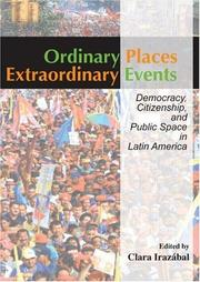 Cover of: Ordinary Place/ Extraordinary Events