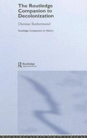 Cover of: Companion Decolonization: The Routledge Companion to Decolonization (Routledge Companions to History)
