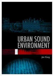 Cover of: Urban Sound Environment