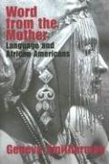 Cover of: Word from the mother