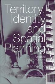 Cover of: Territory identity and spatial planning | Mark Tewdwr-Jones