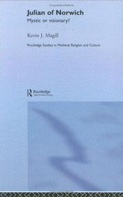 Cover of: Julian of Norwich (Routledge Research in Medieval Religion and Culture)