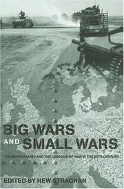 Cover of: Big Wars and Small Wars | Hew Strachan