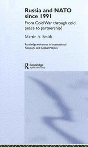Cover of: NATO Russia Relations Since 1991 | Martin A. Smith