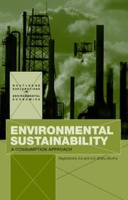 Cover of: Environmental Sustainability | Jha & Murthy