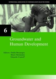 Cover of: Groundwater and human development |