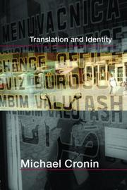 Cover of: Translation and identity