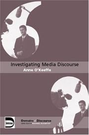 Cover of: Investigating Media Discourse (Domains of Discourse)