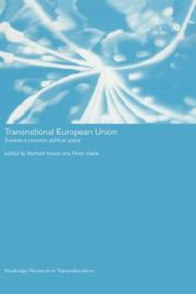 Cover of: Transnational European Union