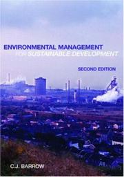 Cover of: Environmental Management for Sustainable Development