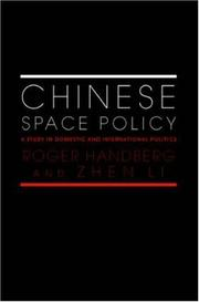 Cover of: Chinese Space Policy (Space Power and Politics)