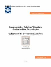 Cover of: Improvement of Buildings