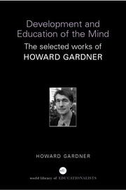 Cover of: Development and Education of Mind