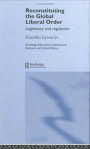 Cover of: Reconstituting the global liberal order