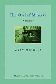 Cover of: The owl of Minerva
