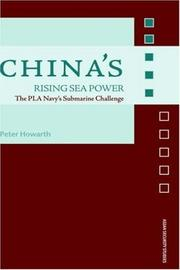 Cover of: China's  Rising Sea Power (The PLA Navy's Submarine Challenge) (Asian Security Studies)