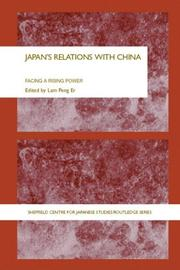 Cover of: Japan's Relations With China