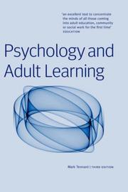 Cover of: Psychology and adult learning