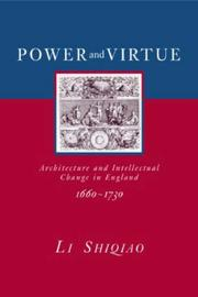 Cover of: Power and Virtue