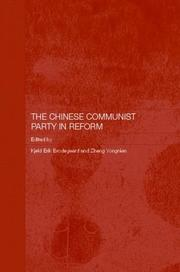 Cover of: The Chinese Communist Party in reform