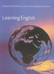 Cover of: Learning English